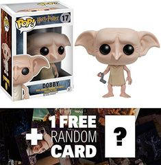 Dobby Funko POP x Harry Potter Vinyl Figure  1 FREE Official Harry Potter Trading Card Bundle 65614