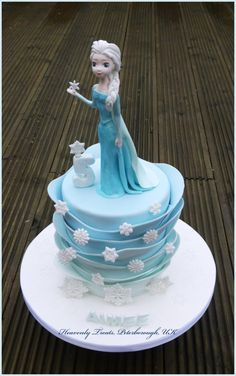 Frozen - Cake by Heavenly Treats by Lulu