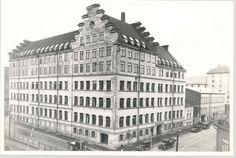 Fazer`s old factory Old Factory, Helsinki, Historian, Finland, Legends, Nostalgia, Louvre, Sun, Building