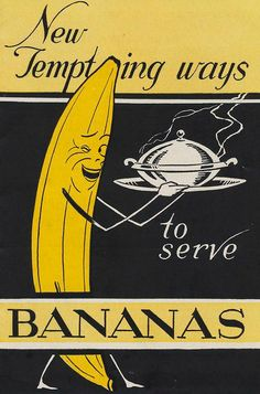 Banana Vintage Poster