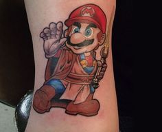 Top 10: as tatuagens gamers mais curiosas