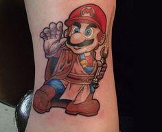 Top 10: as tatuagens gamers mais curiosas