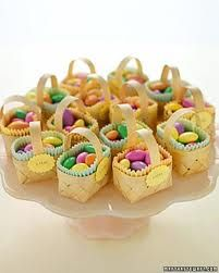 cute easter favor for place settings