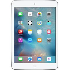 "Apple iPad Mini 2 16GB 1.3GHz Wi-Fi 7.9"" Tablet iOS7ME279LL/A (White W/Silver)"