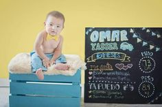 6 meses Sesión mes a mes Baby photography