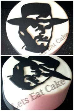 Clint Eastwood 2d cake...  http://www.facebook.com/pages/Lets-Eat-Cake/215286061816033