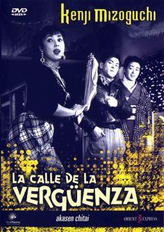 La calle de la vergüenza (1956) Xapón. Dir: Kenji Mizoguchi. Drama. Prostitución - DVD CINE 1540
