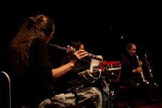 Free Flow improvisation (ES/PO/AL) durante su concierto en #INSONORAVIII sábado 15 marzo 2014, auditorio 400 MNCARS.