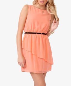 Flounced A-Line Dress from Forever Saved to Epic Wishlist. Shop more products from Forever 21 on Wanelo. Jeans Dress, Dress Skirt, Dress Up, Play Dress, Belted Dress, Going Out Dresses, Cute Dresses, Summer Dresses, Long Dresses