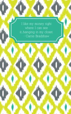 #maydesigns budget journal, Carrie Bradshaw style. #maydesignscontest