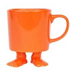 Mug Orange, now featured on Fab. (I don't need it but it's so cute!)