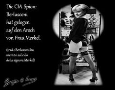 Merkel spiata dalla Cia.