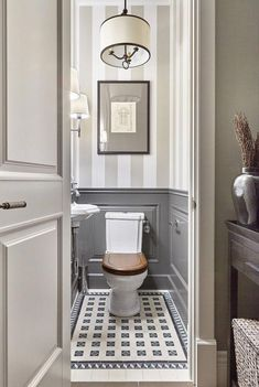 Bathroom inspiration modern Half Bathroom Ideas Small Decor Powder Rooms The Conspiracy 65 - api Best Bathroom Designs, Bathroom Design Small, Modern Bathroom, Bathroom Ideas, Master Bathroom, Bathroom Organization, Bathroom Renovations, Bathroom Gray, Bathroom Makeovers