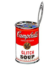 """""""There's a glitch on my soup""""  [pop has an error]  [Animated gif]  2012"""