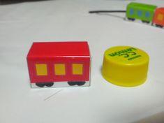 電車のひも通し   手作りおもちゃで子育て Usb Flash Drive, Crafts For Kids, Toys, Crafts For Toddlers, Kids Arts And Crafts, Toy, Games, Kid Crafts, Craft Kids