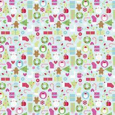 Doodlebug Design - Happy Holidays Collection - 12 x 12 Paper - Jolly Holidays at Scrapbook.com $0.79