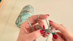 Kurz háčkování - řetízek a krátký sloupek 1. díl, Crochet school Knit Crochet, Drop Earrings, Christmas Ornaments, Knitting, Holiday Decor, Floral, Flowers, Youtube, Crafts
