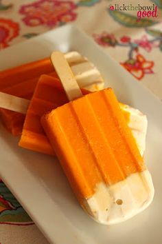 even low carb diets need some kind of sweets every now and then...these aren't too bad in sugar and would definitely feel like luxurious splurge...Carrot Cake Ice Pops.