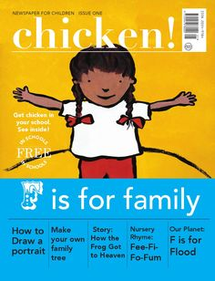 Chicken Newspaper 2013/2014  Official pilot issue of Chicken, a quarterly…