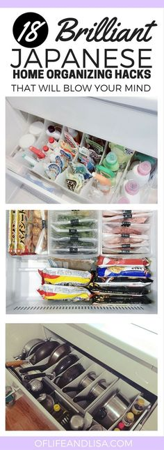 THESE ORGANIZING IDEAS FOR THE HOME ARE AMAZING. YOU WILL WANT TO TIDY YOUR HOME AFTER SEEING THESE JAPANESE ORGANZING HACKS. REPIN! #home #organizing #tidy #mom #lifestyle #love #blog #repin #japan #japanese #art #decor #hacks #tips