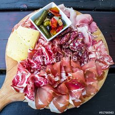"""#typical #dish #Italian #appetizer"""" #ham #cheese"""