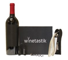 Winetastik Premium Wine Opener  Great product review showing outstanding customer service by Winetastik.