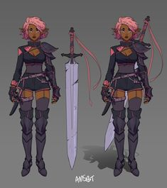 """manda on Twitter: """"I designed an RPG character with my twitch chat! thank you guys so much for participating, it was so much fun!… """""""