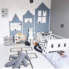 """47 Likes, 4 Comments - Sabrina (@homedecorsb) on Instagram: """"Good night  #inspi#chambre#kids#deco"""""""