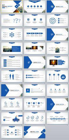 28+ business chart powerpoint presentations template | 2018 business, Annual Report Powerpoint Presentation Template, Presentation templates