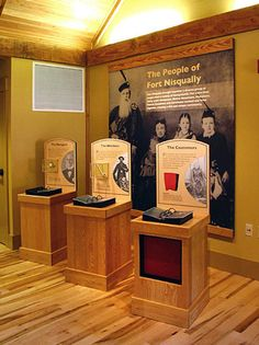 Museum Exhibit Design and Interpretive Planning | EDX - Work - Projects - Fort Nisqually Interpretive Center