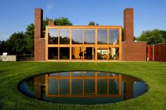 Steven Korman house. Forth Washington, Pennsylvania. 1971. Louis Kahn