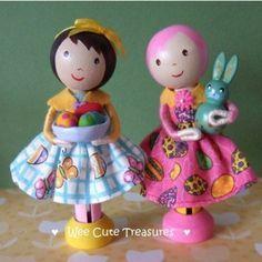 more cute peg dolls