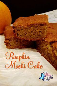 Great Pumpkin Search 2016 - Pumpkin Mochi Cake Recipe