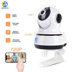 ac5e55786c0 Jooan IP Camera Wireless Home Security Monitor Surveillance Camera Wifi  Night Vision CCTV Camera Baby Monitor HD Pet Camera
