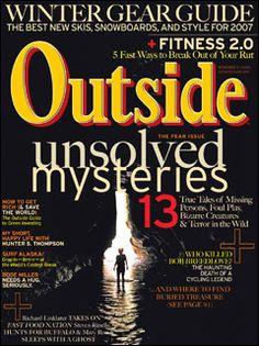 Outside Magazine, November 2006