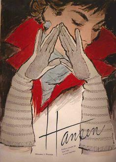 Hansen Gloves Advertisement, 1957.