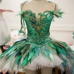 Nymph costume from The Sleeping Beauty, designed by Gabriela Tylesova. The Australian Ballet, 2015. Photograph by Lynette Wills.