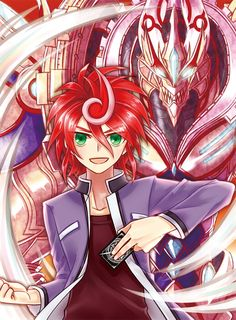 Shindou Chrono: the most unexplainable Mc hair out there, I mean, even Yami's made more sense...