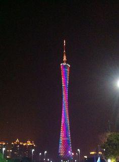 Canton Tower, Guangzhou, China #guangzhou #china #tower www.visitodo.com