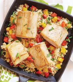 Mahi Mahi with Pineapple & Red Peppers - Clean Eating - Clean Eating