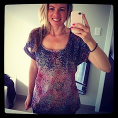 Check out Kristin's entry:  pritty tings: Finished my first item of clothing....ever!
