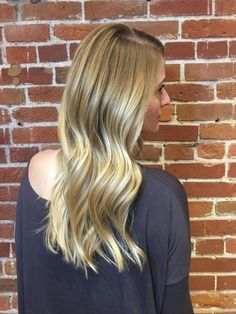 Bling bling blonde! Stylist Kelsey helped this guest achieve her fantastic new look! Reserve today: 816-605-1949 or visit http://www.theglamroomkc.com