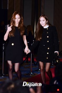 151027 Krystal & Jessica = The 10th W Korea Breast Cancer Awareness Campaign Charity Event