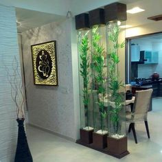 Best catalog for modern room divider partition wall design ideas 2019 Glass Partition Designs, Living Room Partition Design, Living Room Divider, Living Room Decor Colors, Living Room Designs, Partition Ideas, Living Rooms, Glass Partition Wall, Door Design