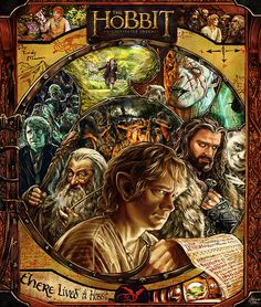 """""""The Hobbit: An Unexpected Pinup"""" by Adriana Melo  http://geekartgallery.blogspot.co.uk/2013/08/posters-hobbit_30.html"""