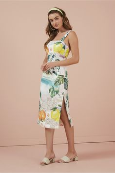 Finders Keepers Honey Dress In Destination Fitted Midi Dress, Finders Keepers, Straight Skirt, Dress Outfits, Women's Dresses, Dresses Online, Dress Collection, Spring Summer Fashion, New Dress