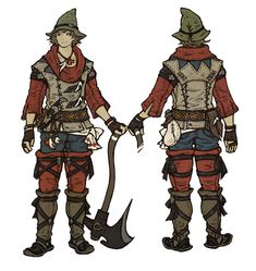 Botanist from Final Fantasy XIV: A Realm Reborn