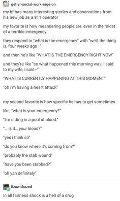 What's The Emergency? http://ibeebz.com