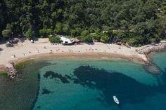 Bild från Restaurant L'Aiguille på stranden i Theoule sur mer söder om cannes