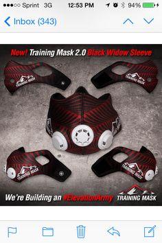 My new training mask 2.0 sleeve!